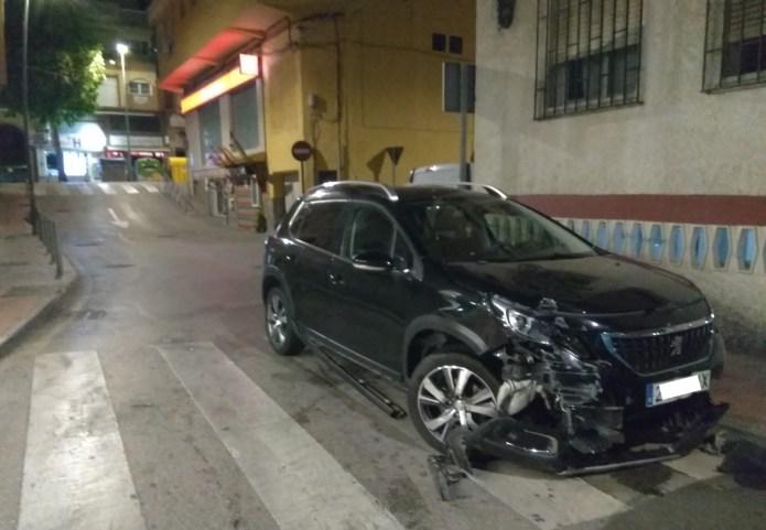 La Policía Local de Rincón de la Victoria detiene a cuatro individuos, dos de ellos con múltiples antecedentes policiales