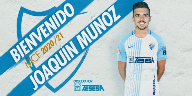 El Málaga CF incorpora a Joaquín Muñoz, cedido por la SD Huesca