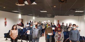 """El curso """"Seguridad en Trabajos Forestales"""" ha comenzado en Alcaucín y llegará a otros municipios de la Axarquía."""