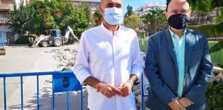 rancan las obras de remodelación del parking de la calle doctor Marañón de Torre del Mar con un presupuesto de unos 20.000 euros