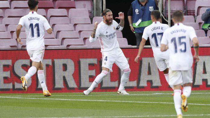 El Real Madrid despierta en el Camp Nou (1-3)