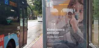 SATSE inicia una campaña informativa en vallas publicitarias, quioscos, marquesinas de autobuses de Málaga para informar y sensibilizar sobre la urgente necesidad de contar en todos los centros educativos con una enfermera que atienda y proteja a los menores