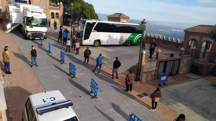 La Junta anuncia cribados masivos en Moclinejo, El Borge, Alfarnatejo y Salares