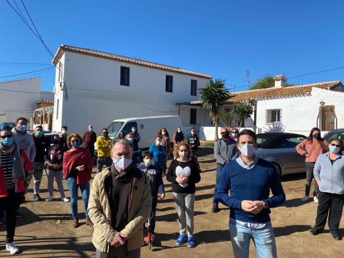 Andalucía por Sí pide soluciones para los vecinos de La Capellanía
