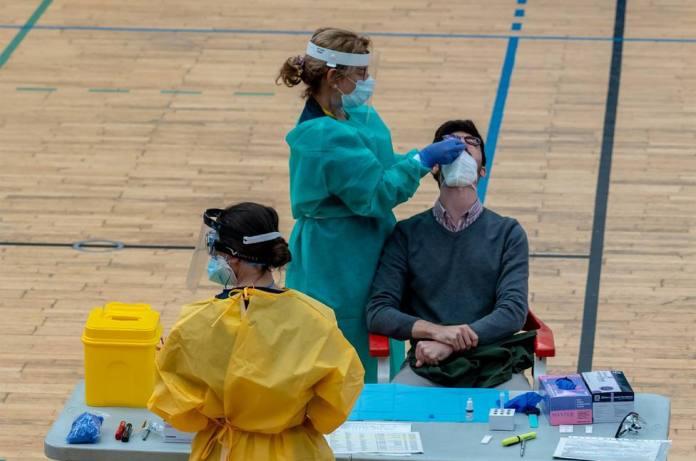 La pandemia sigue creciendo en Andalucía
