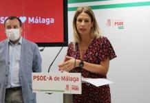 El PSOE denuncia la falta de previsión de la Junta en la vacunación contra el COVID-19 en Málaga