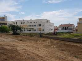 inicio de las obras en Los Fernández en Rincón de la Victoria