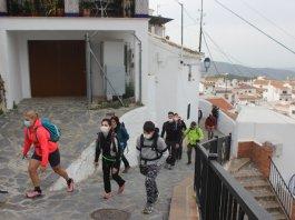 Senderismo organizado por el club Playas de Torre del Mar.