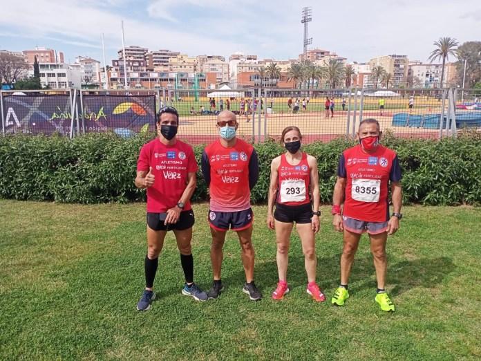 Salvador Galeote, Javi Guerra, Jorge Ramírez y María Moreno logran medalla en el en el Campeonato de España