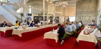 sesión plenaria del mes de junio del Ayuntamiento veleño