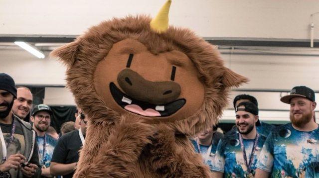 Mascota del EthDenver