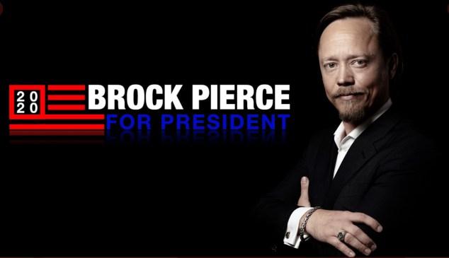 brock pierce presidencia