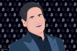 Mark Cuban, por IG: @nicole_draw Imagen bajo Creative Commons CC-BY Atribución a https://nicoleleon.design
