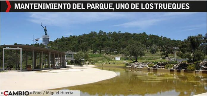 mantenimiento parques moches