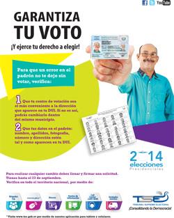 Garantiza tu voto