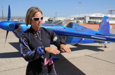 Roban pertenencias a Melissa Pemberton, piloto de AirShow de Ilopango