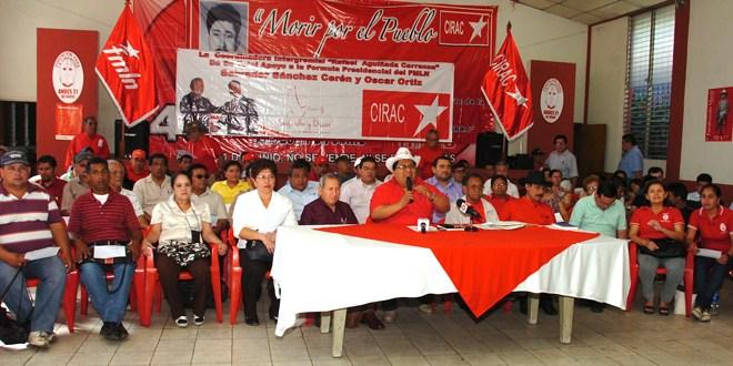 Más sectores sociales confirman apoyo a fórmula presidencial por FMLN