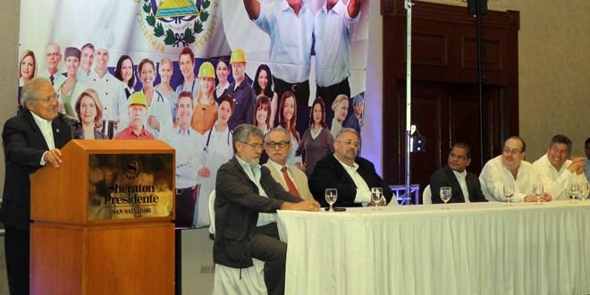 """""""El Salvador Cambia"""" se suma  a fórmula presidencial FMLN"""