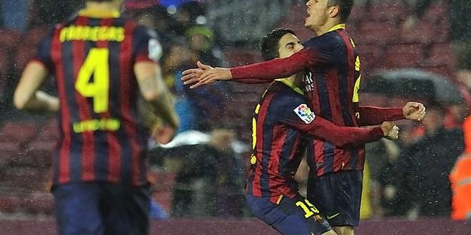 Barcelona y Atlético se unen a Real Madrid  en las semifinales de Copa