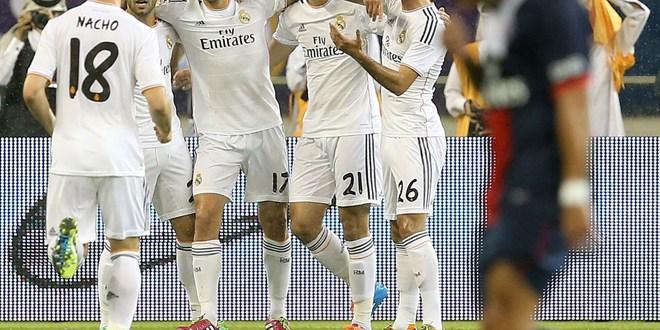 El Real Madrid inicia 2014 con una victoria  sobre el PSG