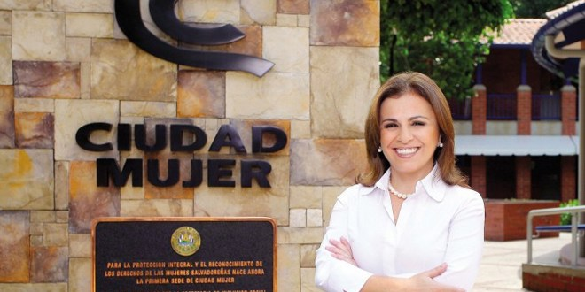 Primera Dama se suma a la campaña electoral  a favor de la fórmula del FMLN