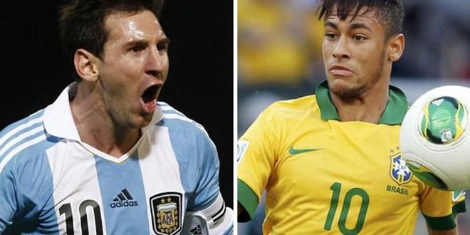 Messi, Neymar, Suárez y Falcao, sudamericanos afianzados en 2013 y a temer en Brasil-2014