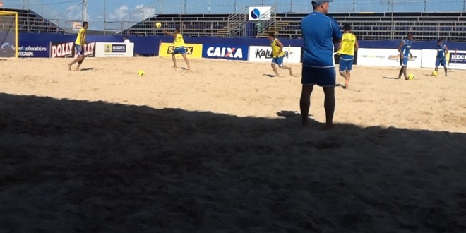 Selección de Playa se encuentra en Brazil