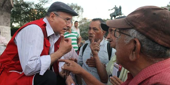 FMLN considera que derecha impulsa medidas para fraude electoral