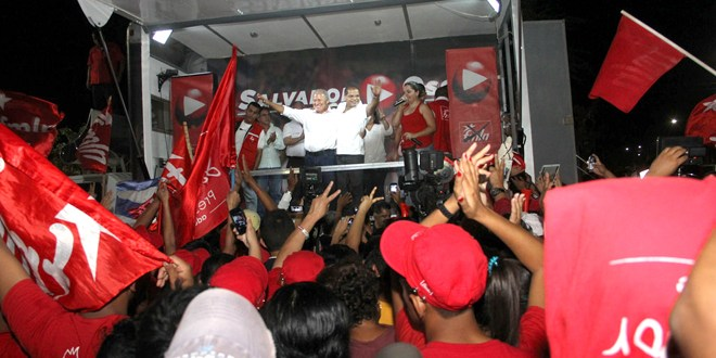 Líderes territoriales de Tepecoyo apoyan a fórmula presidencial del FMLN