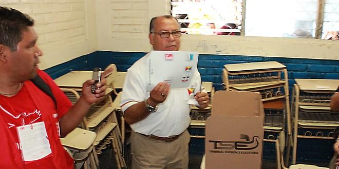 Jornada extensa para el candidato del PSP,  Teniente Coronel Rodríguez Hurtado
