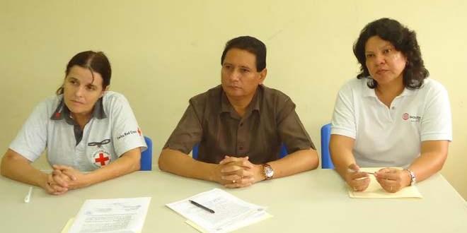 Alcaldía, Suiza El Salvador y Cruz Roja  fortalecerán  sistema de alerta temprana en Jiquilisco