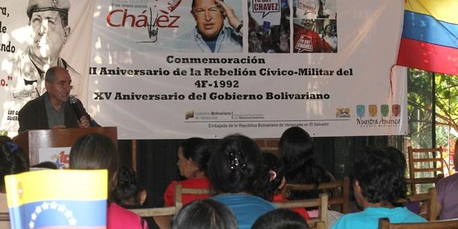En XXII Aniversario de Rebelión  Cívico Militar venezolana