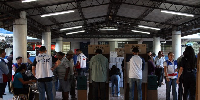 Zona norte de la capital dijo presente en las urnas de votación