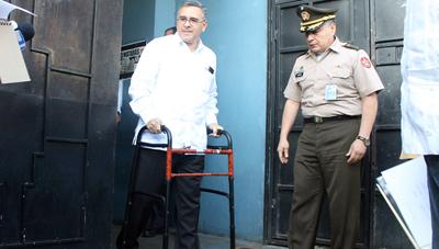 Mandatario desestima señalamientos de diputada de Escobar
