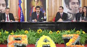 Maduro: No he puesto condiciones para que construyamos una agenda de paz en Venezuela