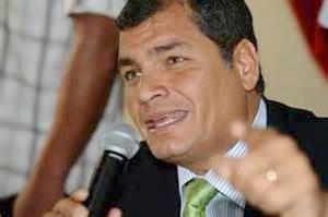 La candidata es la Revolución Ciudadana ecuatoriana