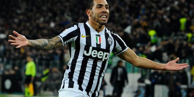 La Juventus gana con gol de Tevez y sigue firme en la cima en Italia
