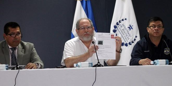 Autoridades salvadoreñas confirman que existe  orden de captura contra asesor de ARENA JJR