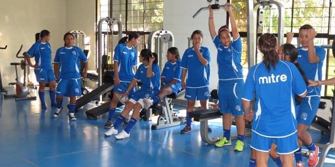 Selección femenina se prepara  para Torneo Eliminatorio UNCAF