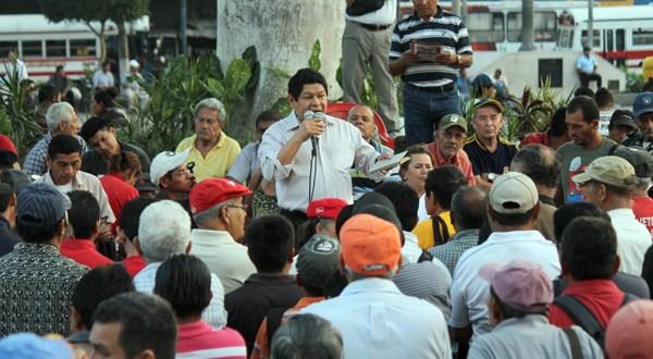 """Benito Lara: """"Gobiernos anteriores institucionalizaron la corrupción"""""""
