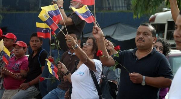 Organizaciones sociales se solidarizan con el gobierno venezolano