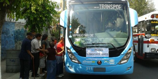 SITRAMSS y SUBES  dan servicio de transporte a la población para que asistan a votar