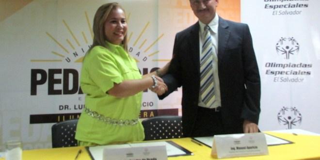 Universidad Pedagógica estrecha lazos de cooperación con Olimpiadas Especiales