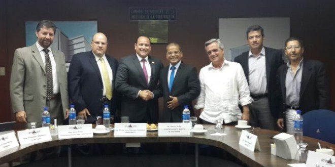 Vicepresidente electo se reúne con líderes de la industria de la construcción