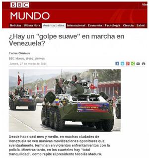 Minci rechaza tergiversación de la BBC Mundo sobre violencia fascista en Venezuela