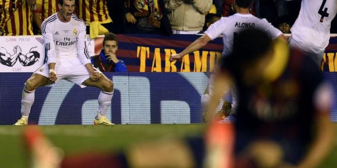 Bale regala la Copa del rey al Real Madrid y hunde al Barcelona