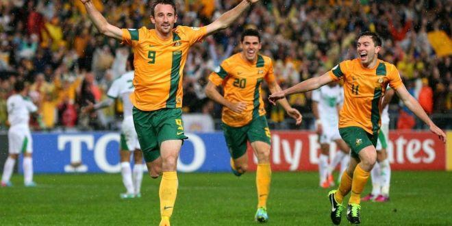 Australia, primera selección en llegar  a Brasil para el Mundial