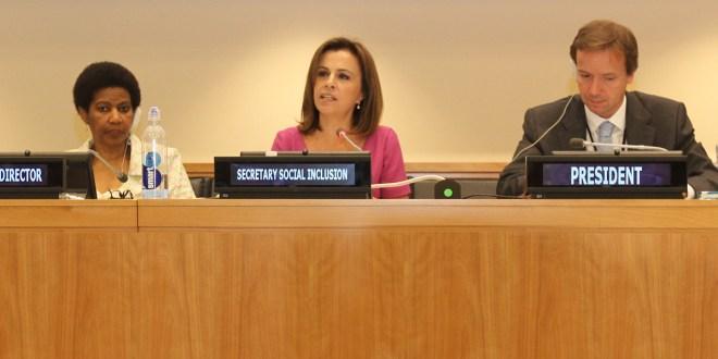 Junta Ejecutiva de ONU Mujeres conoce proyecto Ciudad Mujer