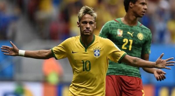 Neymar lleva a Brasil a goleada y a un duelo en octavos con Chile