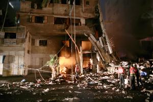 Continúan bombardeos israelíes contra Gaza, la Liga Árabe pide protección internacional